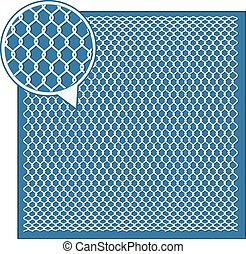 Wire Mesh background - Steel Wire Texture - Octagon...