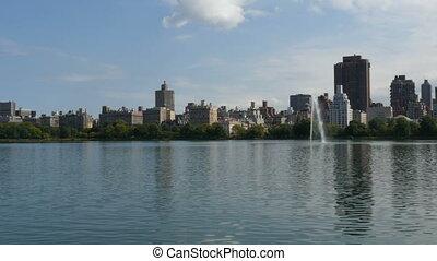 New York City Central Park fountain