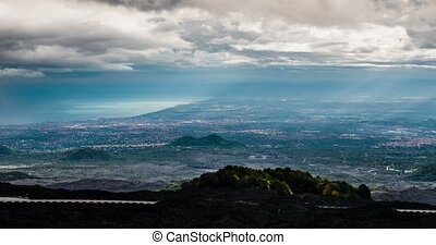 Epic Timelapse from Etna to east coast, Sicily