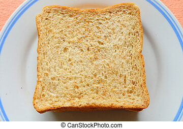 wheet bread from top