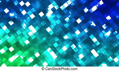 Broadcast Twinkling Fire Light Diamonds, Multi Color, Abstract, Loopable, HD