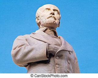 Giuseppe Mazzini Statue. - This is Giuseppe Mazzini Statue...