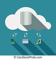Cloud computing storage in cloud concept 2 - Cloud computing...