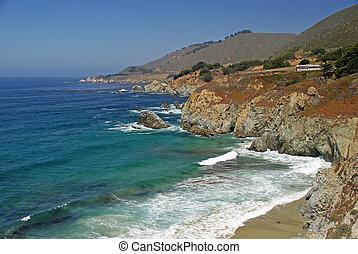 Big Sur - California's Big Sur coastline.
