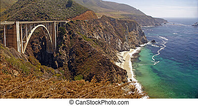Bixby Creek Bridge on Californias Big Sur