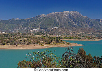 La Maroma and the Sierra Tejadas - The Axarquia region of...