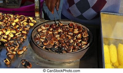 cooking chestnuts
