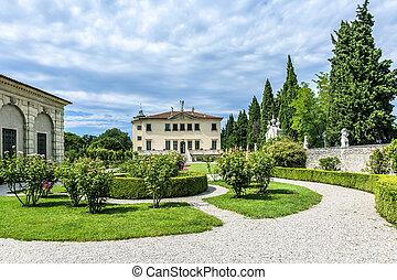 Villa Valmarana ai Nani, Vicenza, Italy - Villa Valmarana ai...