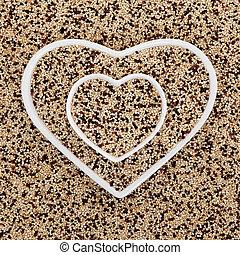 Tricolour Quinoa Super Food - Tricolour quinoa grain super...