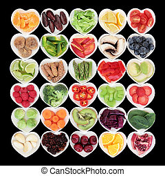 Health Food - Large health and super food fruit and...