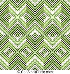 Abstract green seamless zigzag pattern vector EPS 10