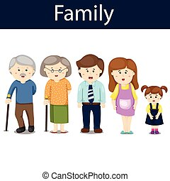 Illustrator of family