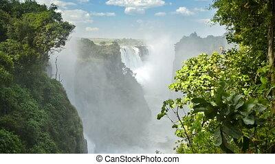 Victoria Falls Zimbabwe - Victoria Falls Devils Cataract or...