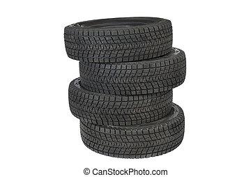 タイヤ, 自動車