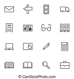 Documents icon sets