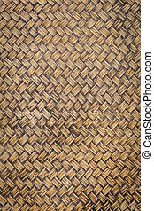 Abstract dark bamboo texture for background - Close up...
