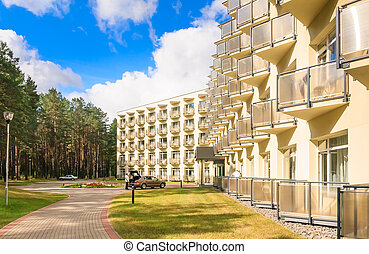 The complex of buildings of the Spa Resort Medical...