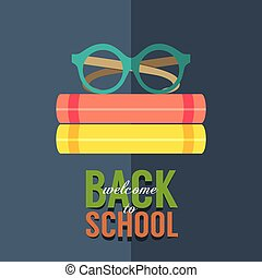 Back to School Concept. - Back to School Concept Vector...