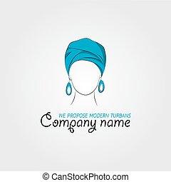 Arabic woman in a turban
