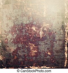 Abstract grunge background of old texture. With different color patterns: yellow (beige); brown; purple (violet); black