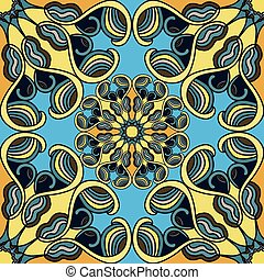 Seamless pattern. Vintage elements. vector illustration