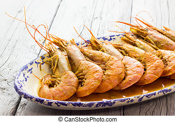Plate of Shrimp