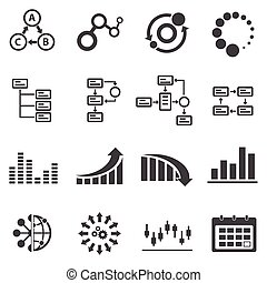 Business icons and Infographic
