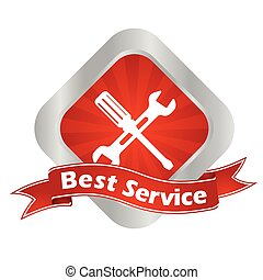 vector sign best service - This is vector sign best service