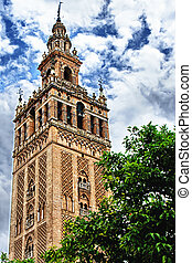 Giralda in Sevilla, Spain. HDR