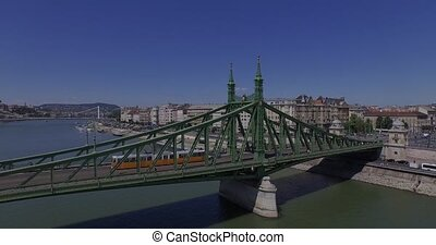 Liberty BridgeBudapestDanube - The Budapest city, Danube...