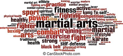Martial arts-horizon [Converted].eps - Martial arts word...