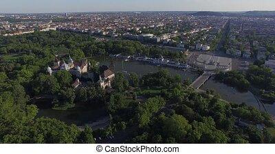 Vajdahunyad Castle in Budapest - Vajdahunyad Castle is one...