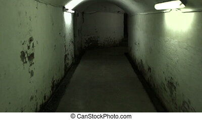 Walking in a mysterious underground tunnels search