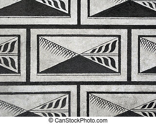 Renaissance sgraffito - wall design