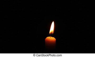 Lighting Up Candle Macro