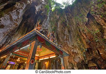 Batu Caves temple near Kuala Lumpur.