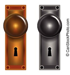 Door knobs Clipart Vector Graphics. 915 Door knobs EPS clip art ...