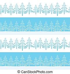Christmas Trees, Seamless