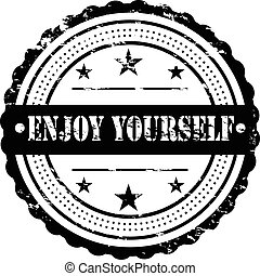 Enjoy Yourself / Grunge Badge