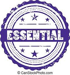 Essential Grunge Badge