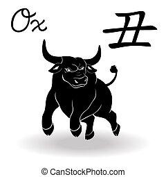Chinese Zodiac Sign Ox
