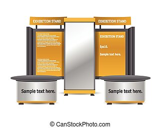 Trade, Sales Complete Exhibition Stand Editable