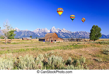 Moulton Barn at Grand Teton