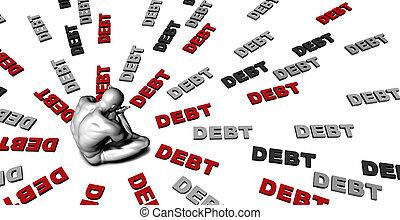 deuda,