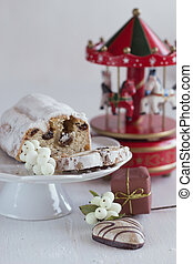 Christmas cakes and gingerbread - Christmas cakes stollen...