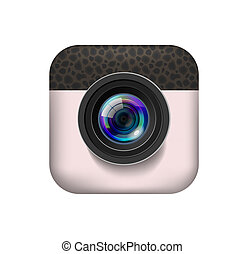 Photo camera icon - Photo Camera Icon for mobile