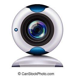 webcam - Camera Icon for Mobile Editable