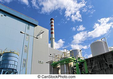 industry - Waste to energy plant in Brescia, Lombardy -...