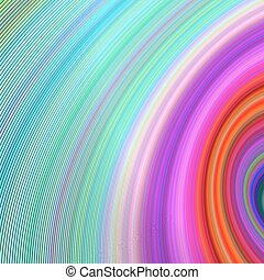 Colorful curved line background - Colorful abstract...