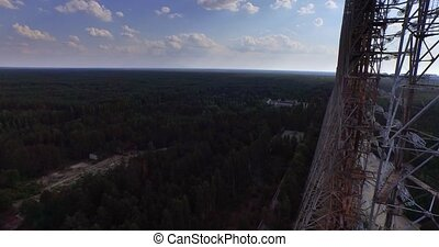 Duga, Chernobyl. Aerial - Duga - Soviet over-the-horizon...
